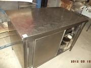 Тепловой стол бу Италия,  при покупке морозильный ларь в подарок.