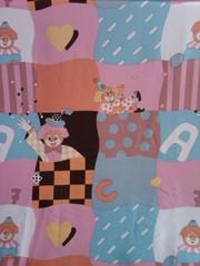 Продам ткань для штор в детскую комнату веселые человечики