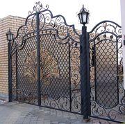 Кованные ворота,  конструкции из кованных элементов от производителя