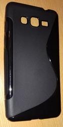 Силиконовый чехол для смартфона Samsung Galaxy Grand Prime G531H черны