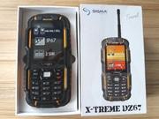 Телефон Sigma X-treme DZ67 с рацией новый
