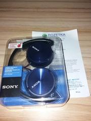 Наушники Sony MDR-ZX310 Blue проводные новые