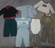 Комплект детской одежды 3-6 мес.