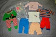 Детские вещи 0-3 мес.  Человечек,   костюм,   брюки,   блузка