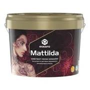 Eskaro Mattilda краска для стен и потолков (матовая) 9, 5 л.