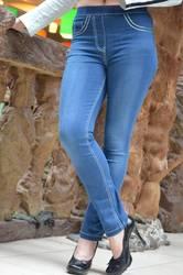 Стрейчевые джинсы-легенсы. Есть р. 40-56