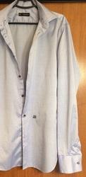 Запонки и рубашка мужская Dsquared2