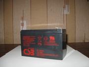 Качественный аккумулятор ТМ CSB,  Yuasa для эхолота,  ибп,  детского элек