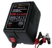 Зарядное устройство 6V/12В для аккумулятора до эхолота,  детского элект