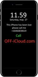 Официальная разблокировка iCloud LOST.