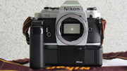 ПРОДАМ ФОТОАППАРАТ  Nikon FG C БУСТЕРОМ.(ТУШКА) body.НОВЫЙ !!!