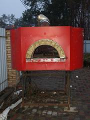 пПиццерийная печь на дровах бу
