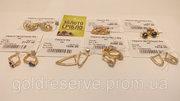 Золотые сережки б/у - 910 грн/грамм.