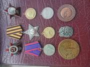 продам ордена медали значки