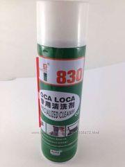 Спрей-очиститель OCA LOCA 830 для снятия ультрафиолетового клея   Исп