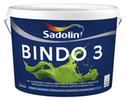 Краска для стен и потолков Садолин Биндо 3 Sadolin Bindo 3