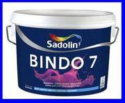 Краска для стен и потолков Садолин Биндо 7 Sadolin Bindo 7