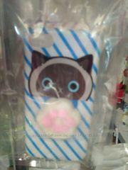 Чехол Антистресс с мягким животиком для Iphone Cat jacket with soft t