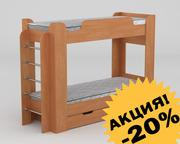Двухъярусная кровать. Недорого с доставкой по Украине