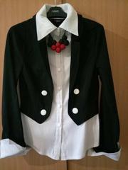 Стильна та оригінальна блуза-піджак