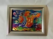 Витражная картина «Морская душа»