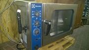 Газовый пароконвектомат бу Electrolux FCG061
