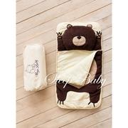 Детский спальный плед-конверт Мишка (есть размеры)