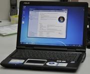 Двухядерный ноутбук Asus F80L (в идеальном состоянии).
