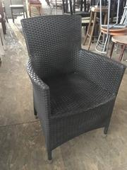 Кресло из искусственного ротанга б/у ATO Сortina  Швеция