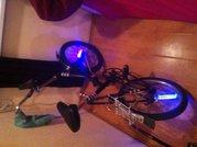 Легендарный Ретро Велосипед BMX. Складной с крутой ночной подсветкой !