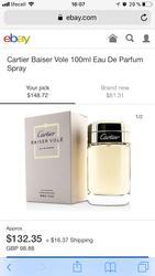 Женский парфюм Cartier