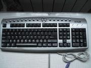 Клавиатура Delux DLK-9872 PS/2 ,  две мышки,  кабеля , переходник для пк