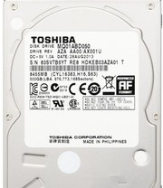 Жесткий диск 500GB Toshiba MQ01ABD050 для ноутбука (б/у).