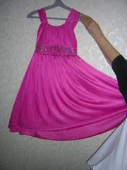 Платье нарядное малинового цвета Samantha says.
