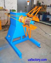 Размотчик рулонного металла RRM-400 консольный реверсивный