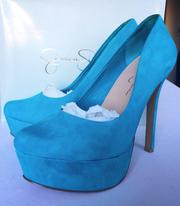 Туфли Jessica Simpson натуральная замша 38р