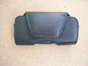 Чехол кожаный для мобильного телефона на ремень