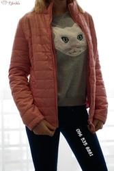 Нежно-розовая куртка (демисезонная)