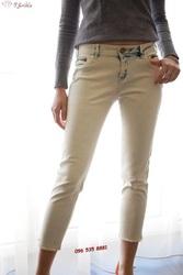 Светлые джинсовые штаны