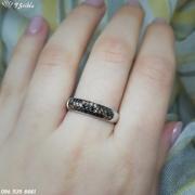 Серебряное кольцо Шампань