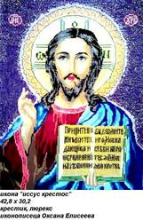 икона исус кристос