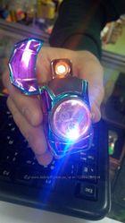 Зажигалка подарочная HONGLING LIGHTER часы машина порше с подсветкой