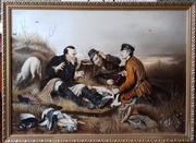 Картина В.Г.Перова Охотники на привале