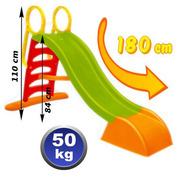 Пластиковая горка длина спуска 180см