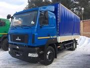 Новый грузовой автомобиль МАЗ-4371N2-521-000 (Е-5) Зубренок тент 4 т