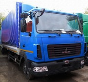 Новый МАЗ-4371V2-522-000 Зубренок 5 тонн,  борт,  тент