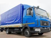 Новый тентованный грузовой автомобиль  МАЗ-4371V2-532-000 Зубренок