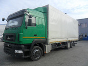 Новый грузовой тентованный автомобиль МАЗ-6310Е9-520-031 г.п. 16 тонн