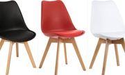 пластиковые стулья для кафе хорека стул Тор белый красный черный