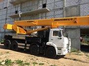 Новый автокран КС-55735-6 Ивановец 35 тонн 8х4